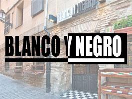 Bar Blanco y Negro